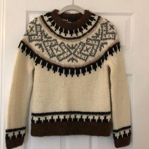 JCrew Collection Fair Isle Sweater